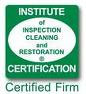 Williams Carpet Cleaninig is a Certified Firm